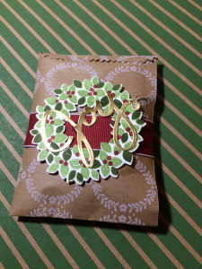 Stampin Up Mini Treat Bag Wondrous Wreath Averys Owlery