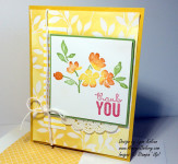 Stampin up Painted Petals Irresistibly Yours DSP AverysOwlery.com