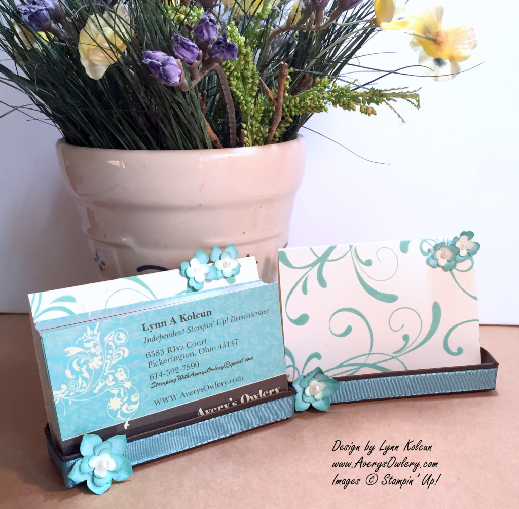 Business Card Easel with Everything Eleanor - Stamping with ...