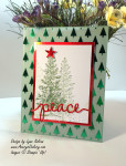 Stampin Up Christmas Greetings Lovely as a Tree AverysOwlery.com