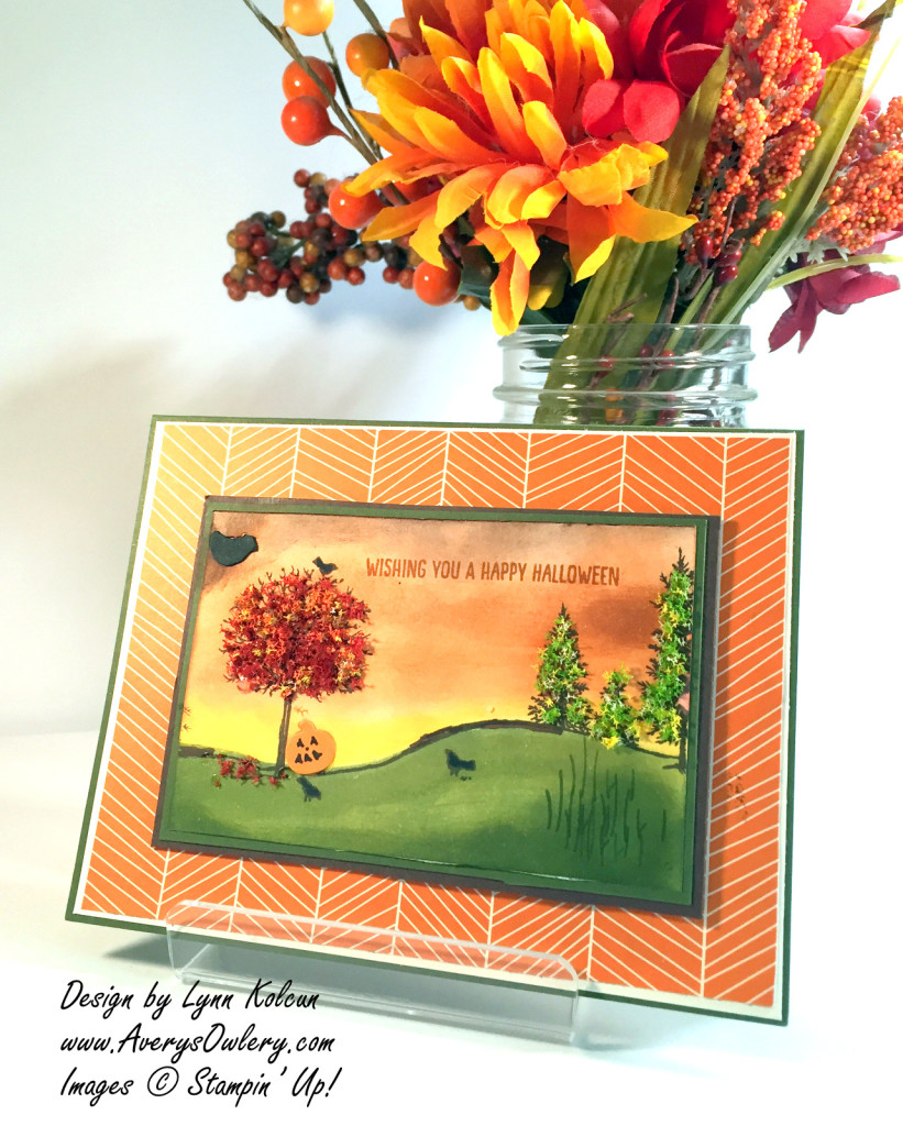Stampin Up Happy Scenes AverysOwlery.com