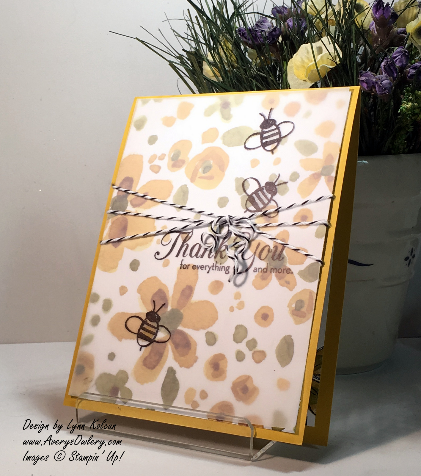 Stampin Up Garden in Bloom AverysOwlery. com