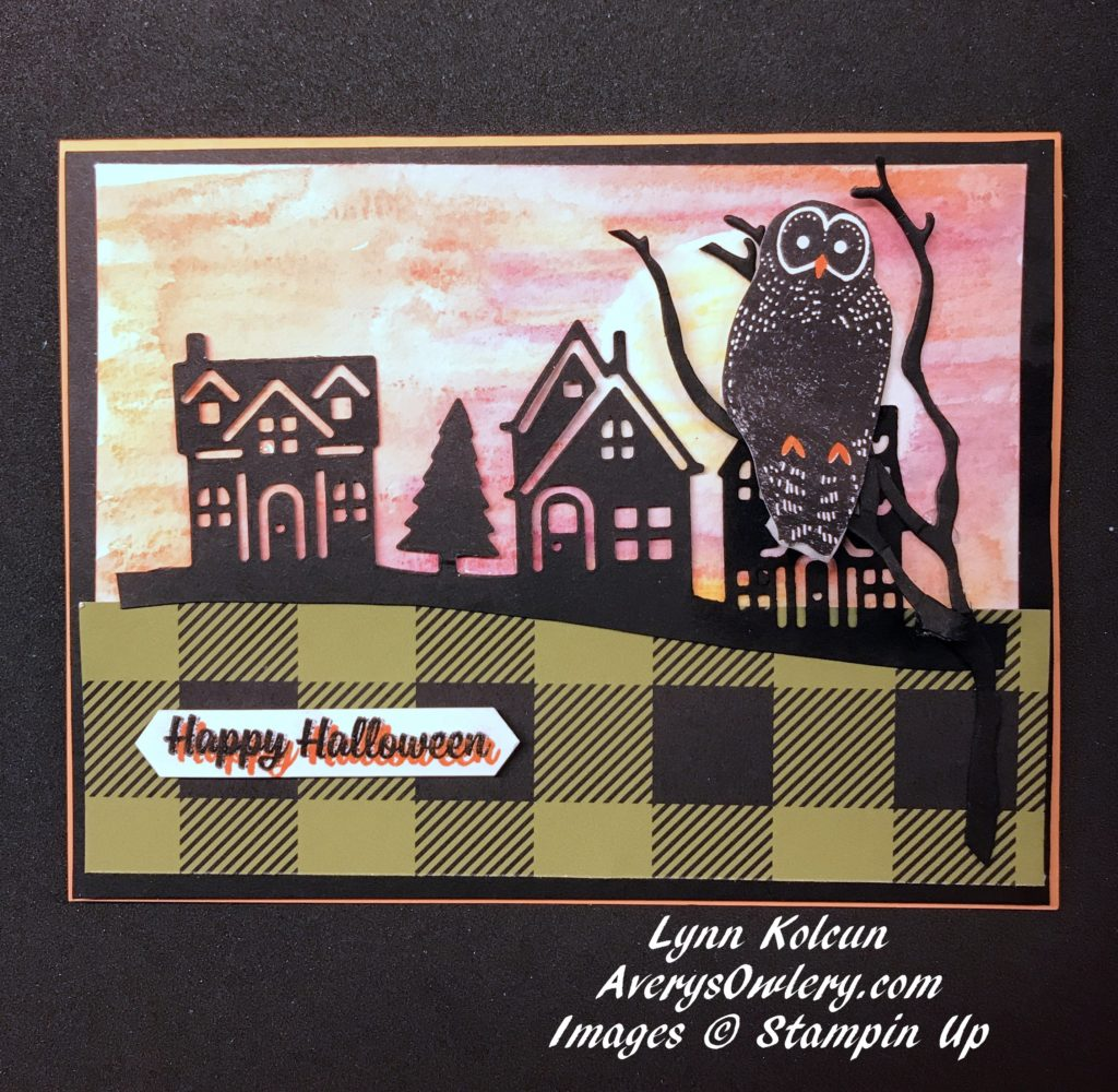 Stampin Up AverysOwlery.com Spooky Cat
